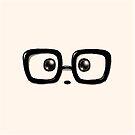 Geek Chic Panda Eyes by Panda And Polar Bear