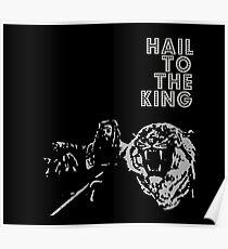 Ezekiel - Hail To The King Poster