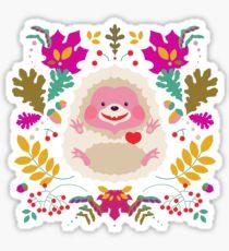Hedgehog LOVE Sticker