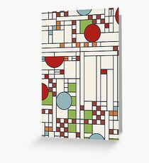 Frank lloyd wright S02 Greeting Card