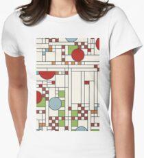 Camiseta entallada para mujer Frank Lloyd Wright S02