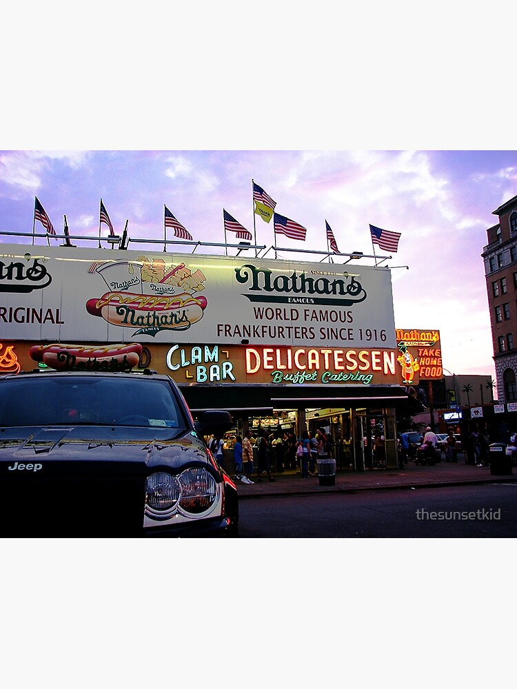 Nathan's Famous by thesunsetkid