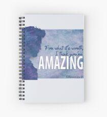 I think you are amaizing Cuaderno de espiral