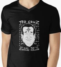 Ted Cruz Zodiac Killer Men's V-Neck T-Shirt