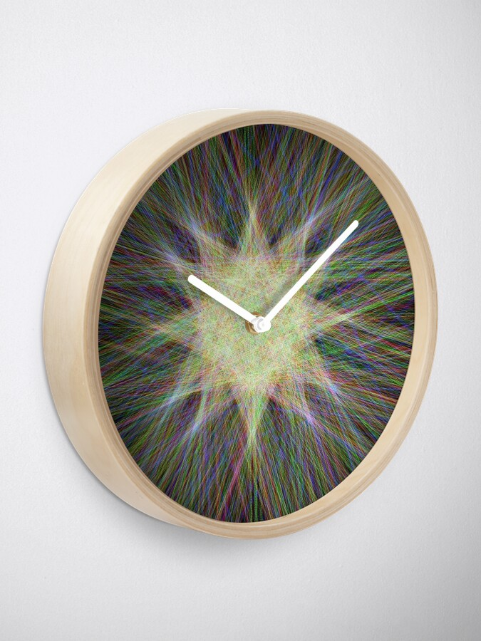 Alternate view of Star, Star, Star! Clock