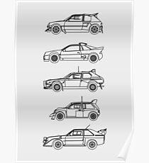 Group B Rally Poster