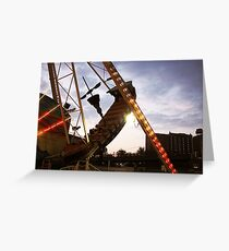 The Pirate Ship at Astroland  Greeting Card