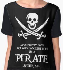 I'm A Pirate  Women's Chiffon Top