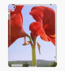 Larger than Life Orange Amaryllis Lilly iPad Case/Skin