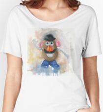 Mr Potato Head - vintage nostalgia  Women's Relaxed Fit T-Shirt