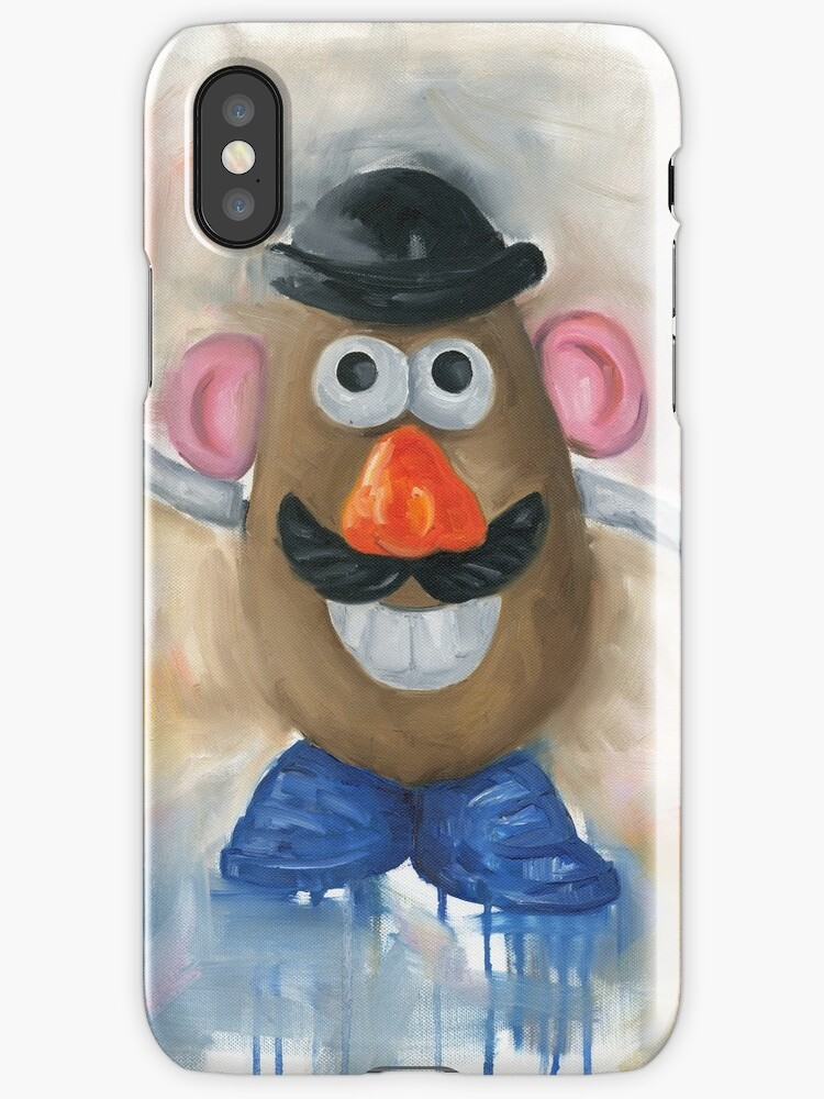 Mr Potato Head - vintage nostalgia  by Deborah Cauchi