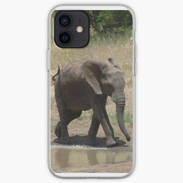 'I'm So Excited, I Just Can't Hide It.......' - Timbavati, South Africa iPhone Soft Case