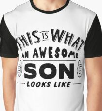 This Is What An Awesome Son Looks Like Graphic T-Shirt