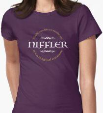 Stroke my Niffler Women's Fitted T-Shirt