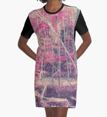 Rasberry Graphic T-Shirt Dress
