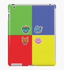 Pokemon Forever blue'n'red iPad Case/Skin