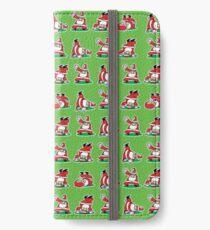 Santa Breakdancing iPhone Wallet/Case/Skin