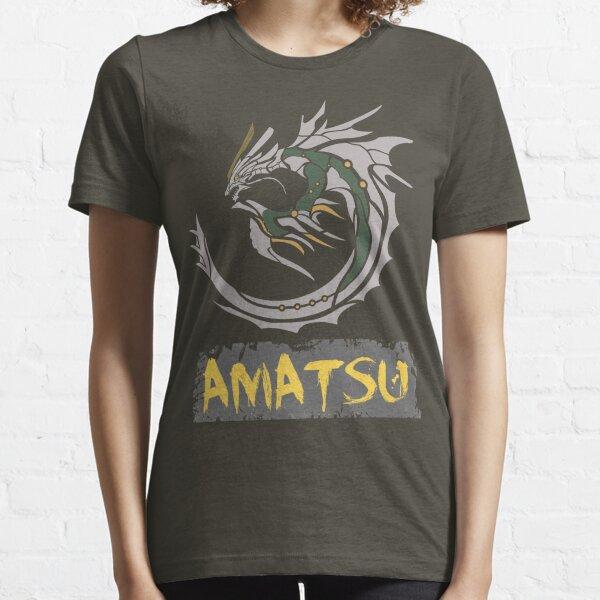 The Circular Catastrophic Storm Dragon Essential T-Shirt