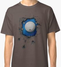 Bullet-riddled wall - Tachikoma Classic T-Shirt