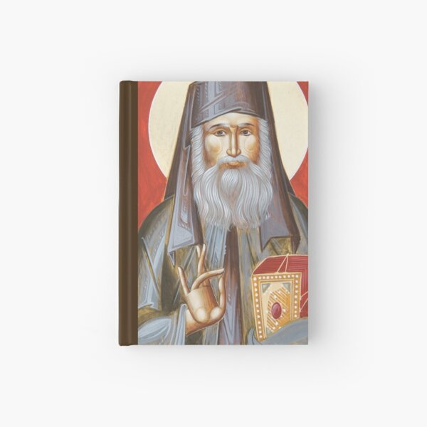 St Nektarios of Aegina Hardcover Journal