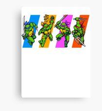 TMNT Turtles in Time Characters Leinwanddruck