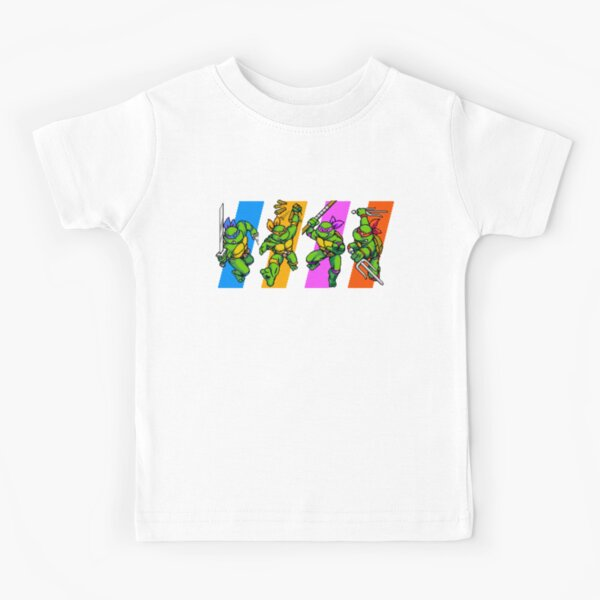 TMNT Turtles in Time Characters Kids T-Shirt