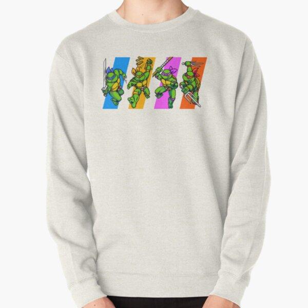 TMNT Turtles in Time Characters Pullover Sweatshirt