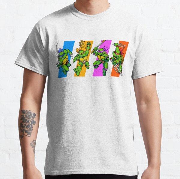 Tortues TMNT en caractères temporels T-shirt classique