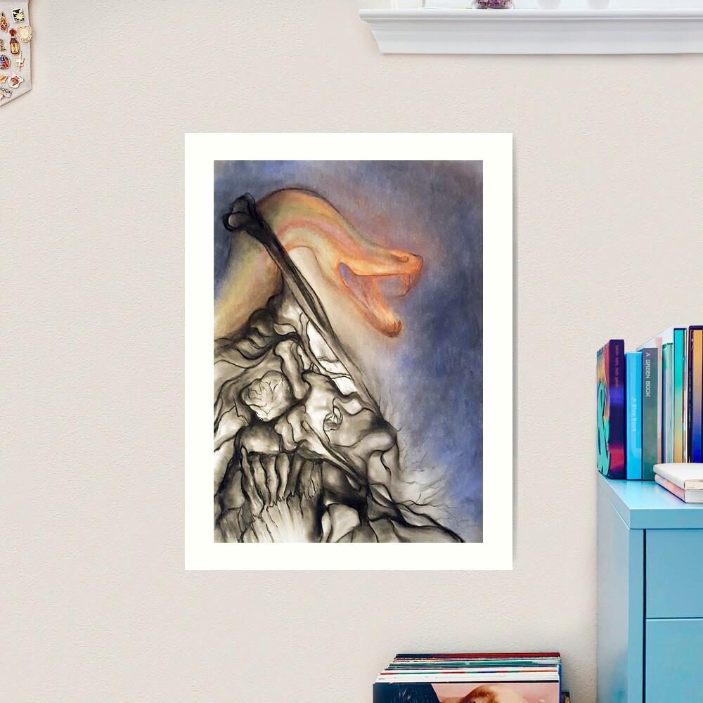 Crush. Art Print