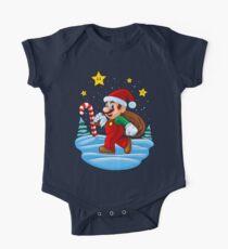 Mario Xmas Baby Body Kurzarm