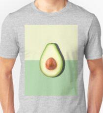 Avocado Half Slice Tropical Fruit Unisex T-Shirt