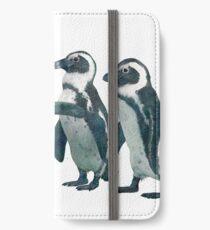penguin party iPhone Wallet/Case/Skin