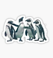 penguin party Sticker