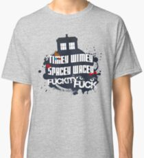 Doctor Who Catchphrases Classic T-Shirt