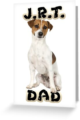 Jack Russell Terrier Dad Father by CafePretzel