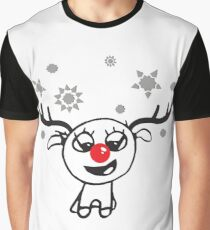 Baby Reindeer for Christmas Graphic T-Shirt