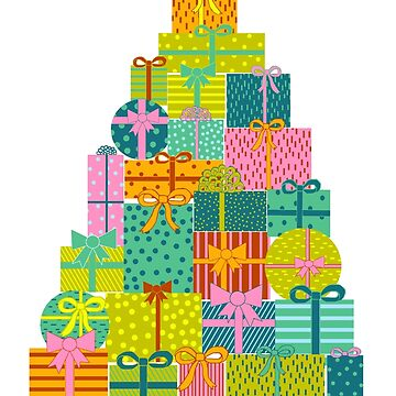 Present Christmas Tree by linnw