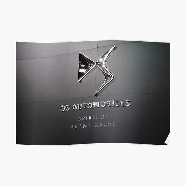 DS Automobiles Poster