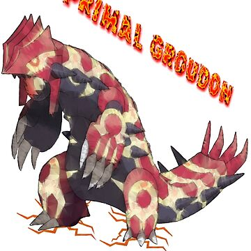 Primal Groudon (Pokemon Omega Ruby) by PowerArtist