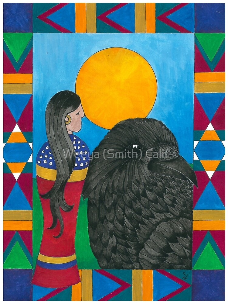 Crow Woman by Weeya Michelle Smith