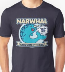 Narwhal Slim Fit T-Shirt