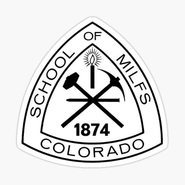 Mines Classic Emblem Sticker