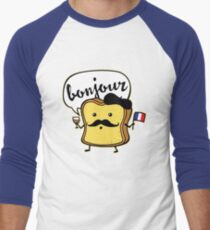 French Toast Men's Baseball ¾ T-Shirt