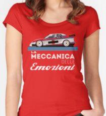 Italian racing Women's Fitted Scoop T-Shirt