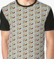 Colourful Parrot Graphic T-Shirt