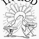 Rodney Cromwell 'In Rod We Trust' Black Text by happyrobots