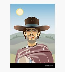 The Man With No Name Photographic Print