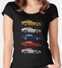 240s Women's Fitted Scoop T-Shirt