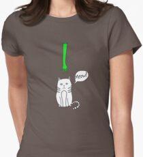 Little kitten Womens Fitted T-Shirt