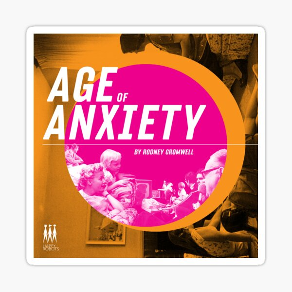 Age of Anxiety  Sticker